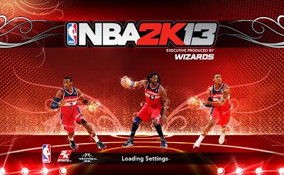 NBA 2K13 Washington Wizards Loading Screen Mod