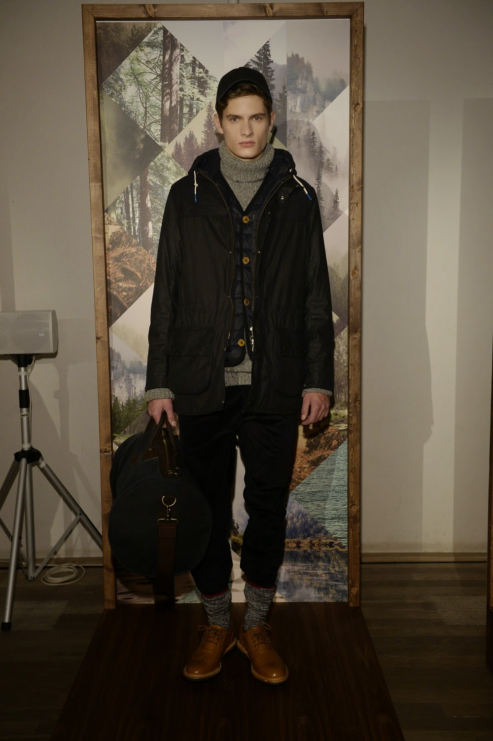 LCM, London Collections, London, Men, Fall 2015, otoño invierno, Barbour, sportwear, casual, Suits and Shirts,