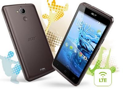 Spesifikasi dan Harga Acer Liquid Z410 Dengan Spesifikasi 4G LTE