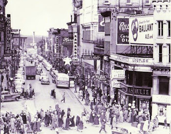 Shopping Old Style...When You Could Get a Cold Ballantine