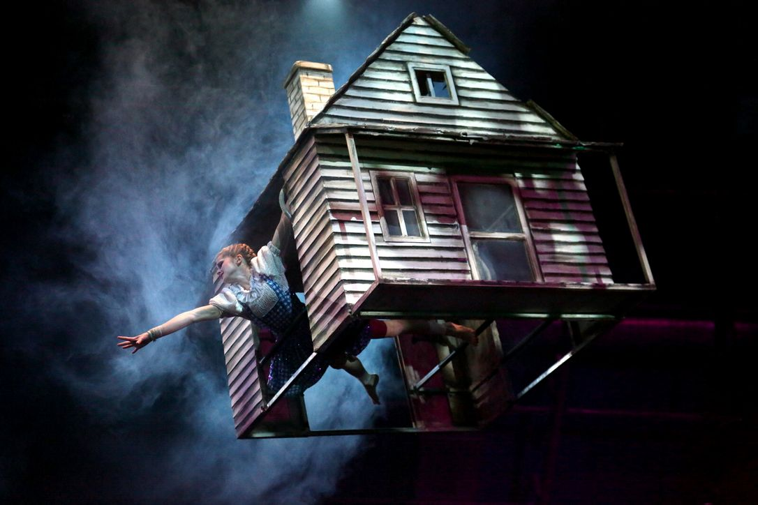 Wizard Of Oz Flying House The Oz Enthusiast: Aug...
