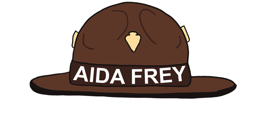 Junior Ranger Aida Frey