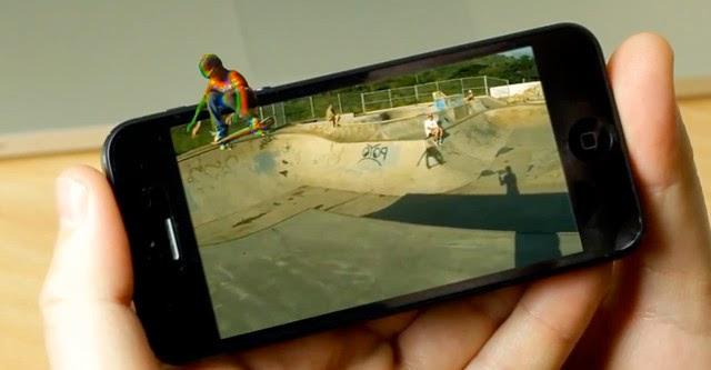 Apple phát triển iPhone màn hình 3D không cần kính