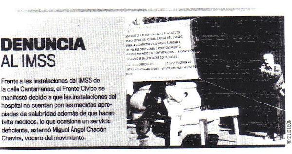 Movimiento frente al IMSS Guanajuato