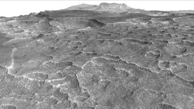 Hallan importante depósito de agua dulce en Marte.