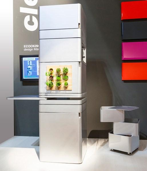 Ecooking : la cucina verticale futuristica, progettata da massimo ...