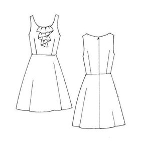 Free Dress Sewing Patterns on Bobbins Of Basil  Coffee Date Dress Sew Along