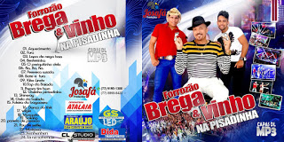 CD Brega & Vinho – Na Pisadinha (2015)
