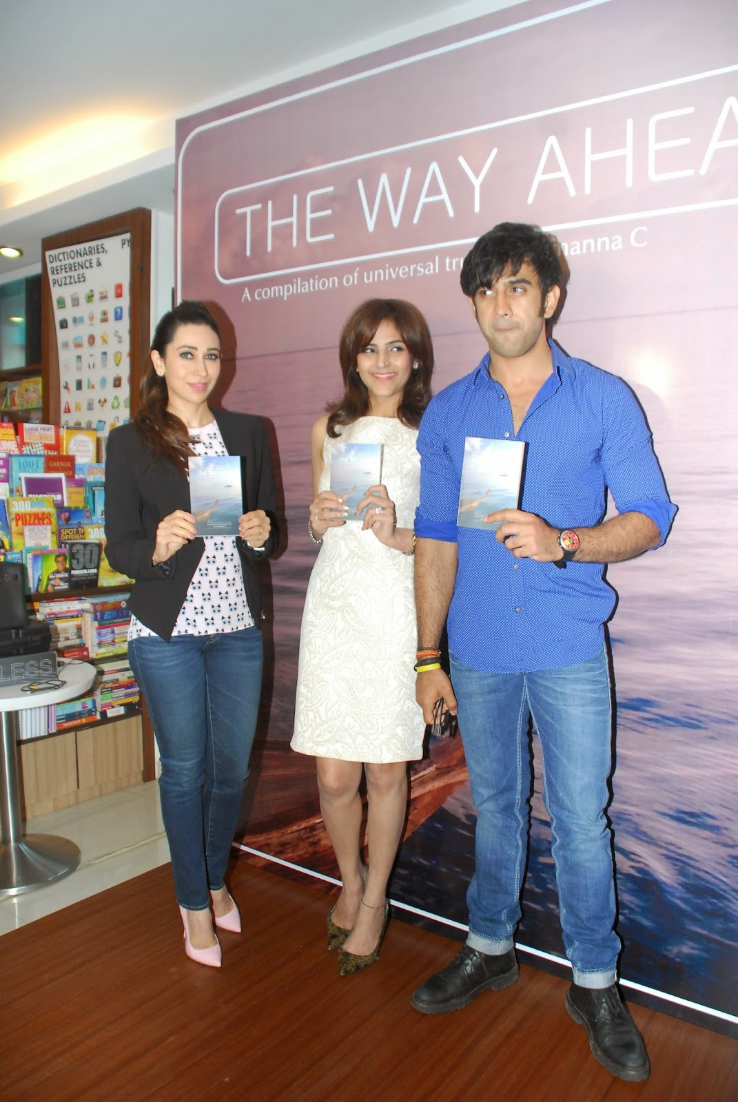 Karisma Kapoor launches Tamanna C's debut book 'The Way Ahead'