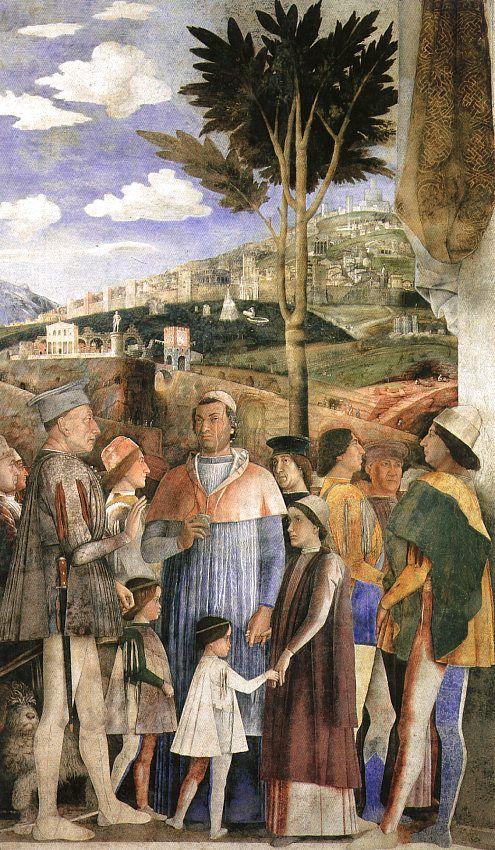 La princesse de mantoue de marie ferranti paris blogged for Camera picta mantegna