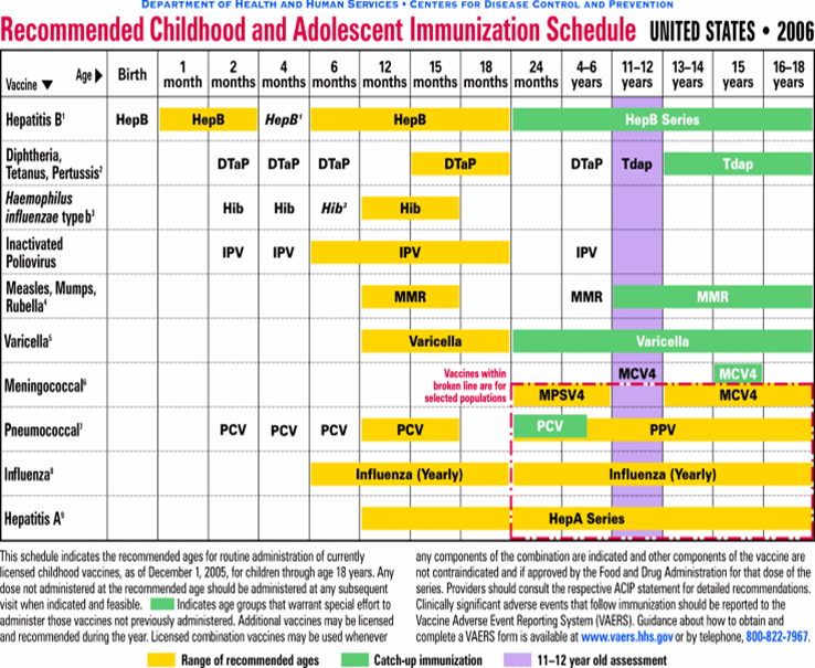 Adair County Immunization Facts