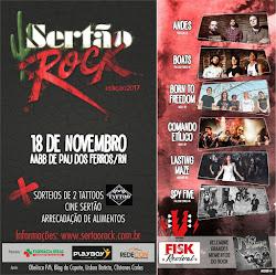 FESTIVAL SERTÃO ROCK 2017