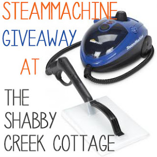 The Shabby Creek Cottage SteamMachine Giveaway