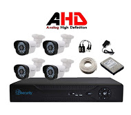 KIT CCTV DVR 4 CÁMARAS