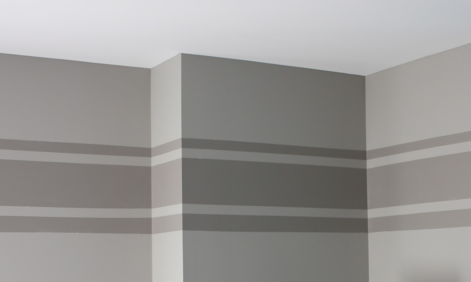 Tone On Tone Wall Stripe Tutorial