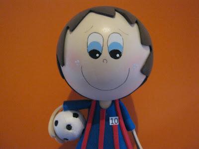 Fofucho Futbolista Messi FC Barcelona Espa  A ARTFOAMICOL