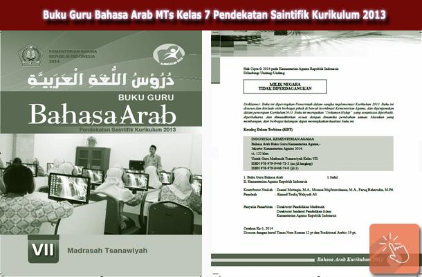 Buku Guru Bahasa Arab MTs Kelas 7 Pendekatan Saintifik Kurikulum 2013