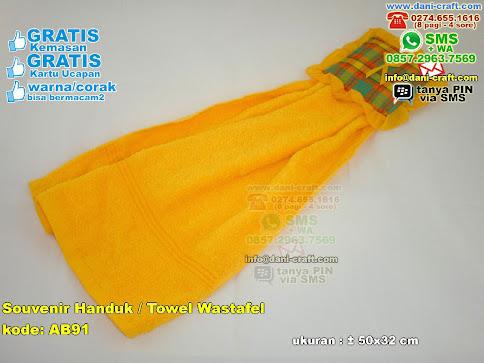Souvenir Handuk Towel Wastafel