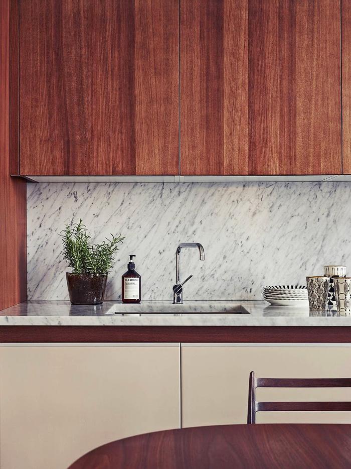 Decoración Esttilo Nórdico apartamento de la estilista Joanna Lavén Cocina