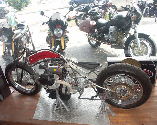 Bellerofonte – Moto Guzzi Flat Track Racer Custom motorcycle