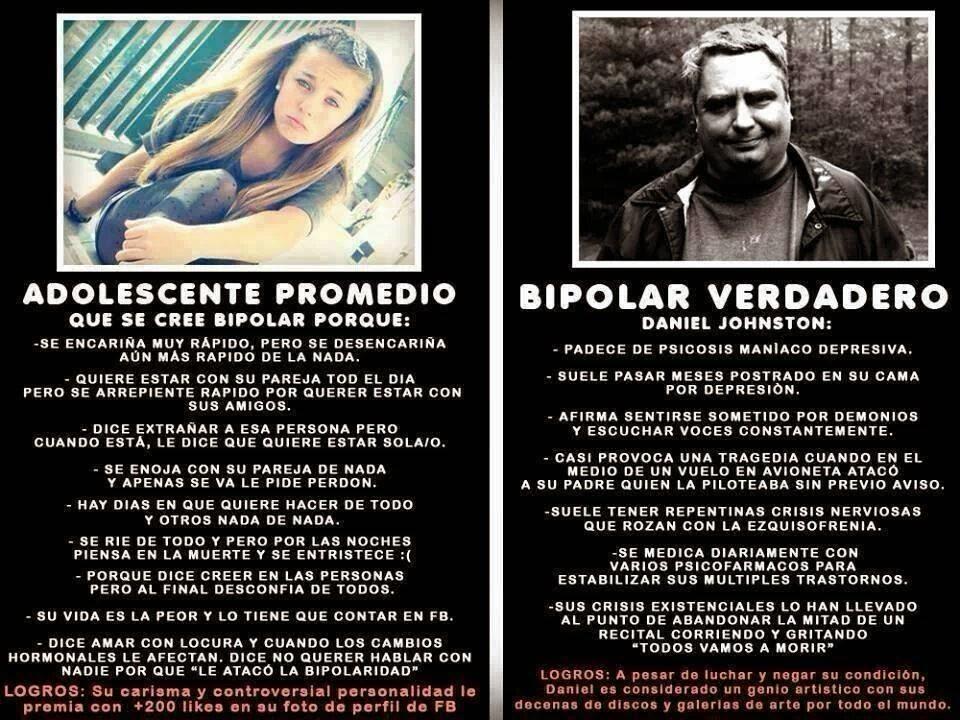 Bipolar promedio vs Bipolar verdadero