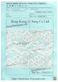 Elastic Lace Trimming Manufacturer - Hong Kong Li Seng Co Ltd