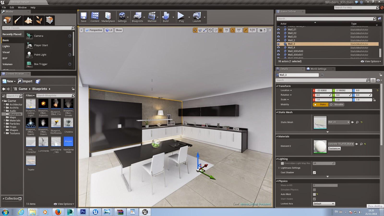 Unreal engine 4 for archviz basic tutorial cg tutorial for Unreal engine 4 architecture