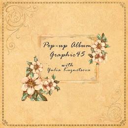 """СП """"Pop-up Album Graphic 45"""" with Yulia Kuznetsova"""