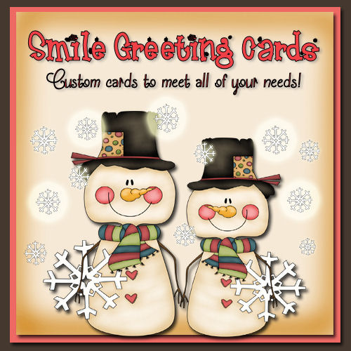 Smile Greeting Cards on Etsy