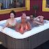 Puro jabardanço na piscina do Big Brother vips com a Caty e a Fanny