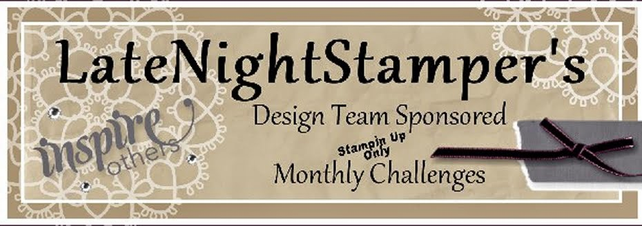 Latenight Stamper's Weekly Challenge Blog