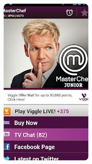 Viggle Live, Viggle, ViggleMom, MasterChef, Fox