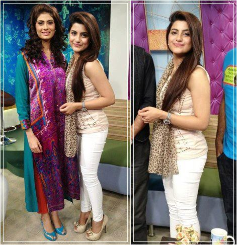 Pakistan Celebrities Sohai Ali Abro with Madiha Iftikhar