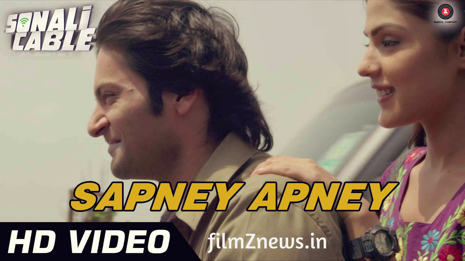 Sapney Apney Videe song from Sonali Cable (2014) - Ali Fazal & Rhea Chakraborty