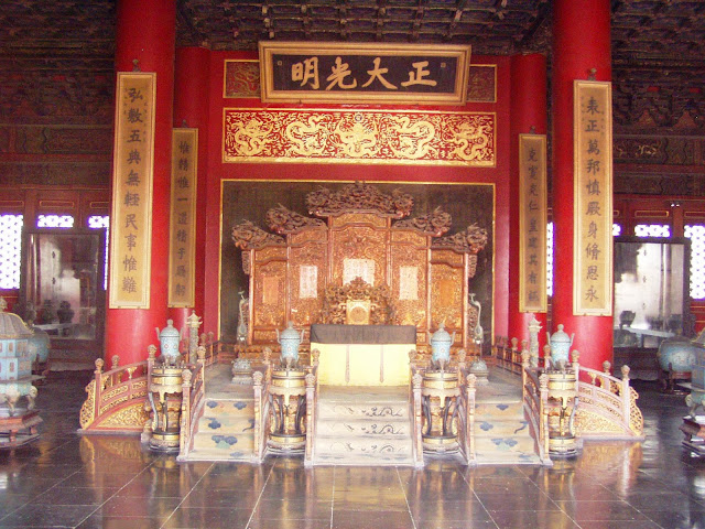 Forbidden City Beijing Throne
