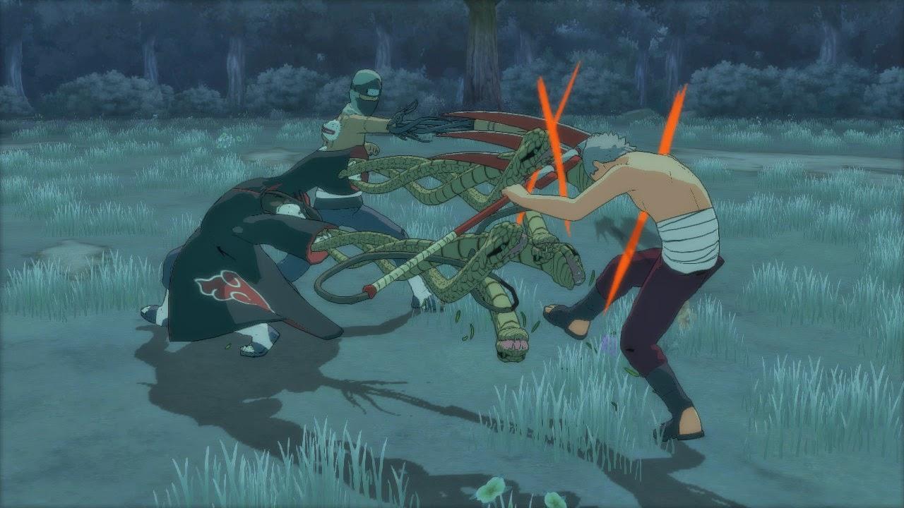 Orochimaru vs Hidan naruto storm revolution