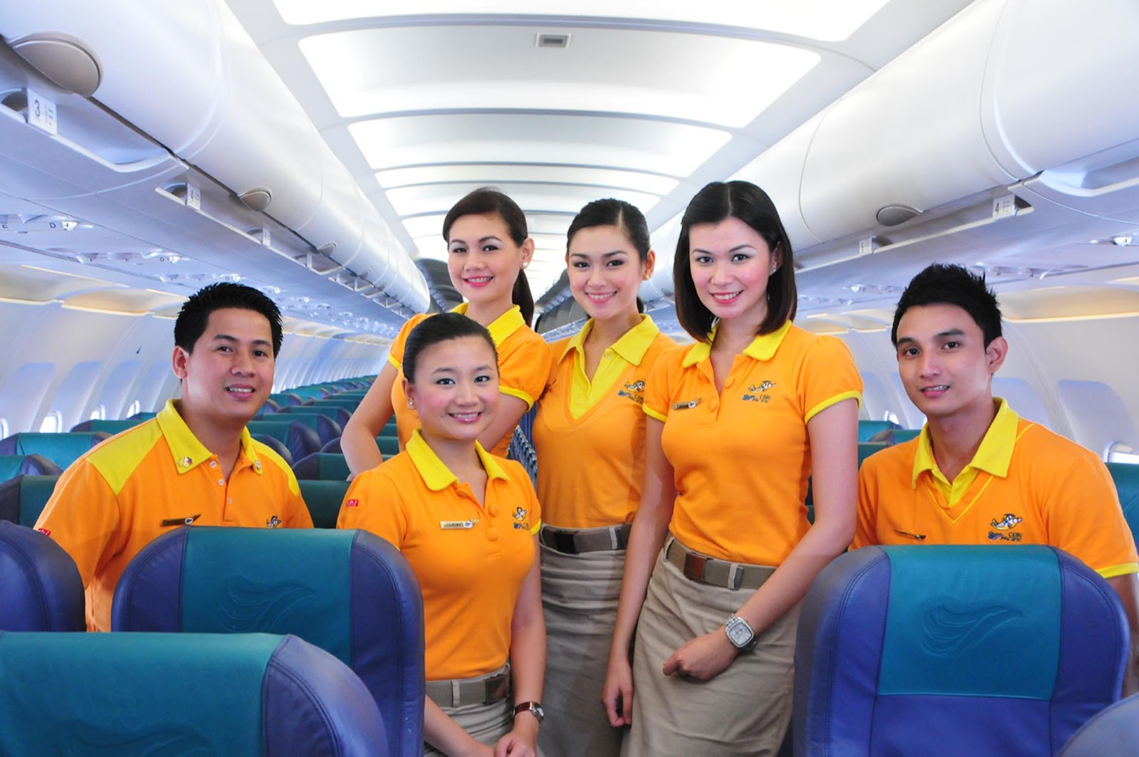 Cebu Pacific Air Pretty And Handsome Cabin Crew World Stewardess Crews