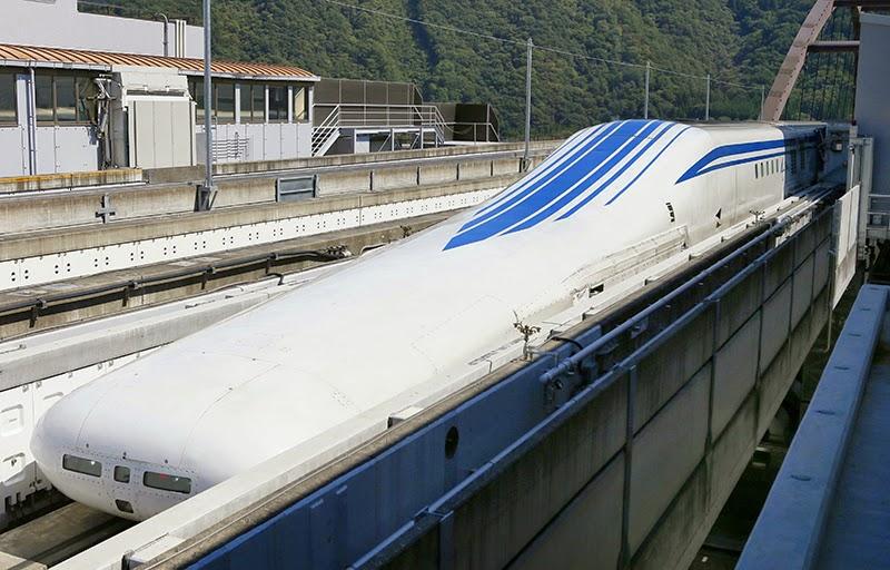 Tren Maglev Jepun Telaju Di Dunia