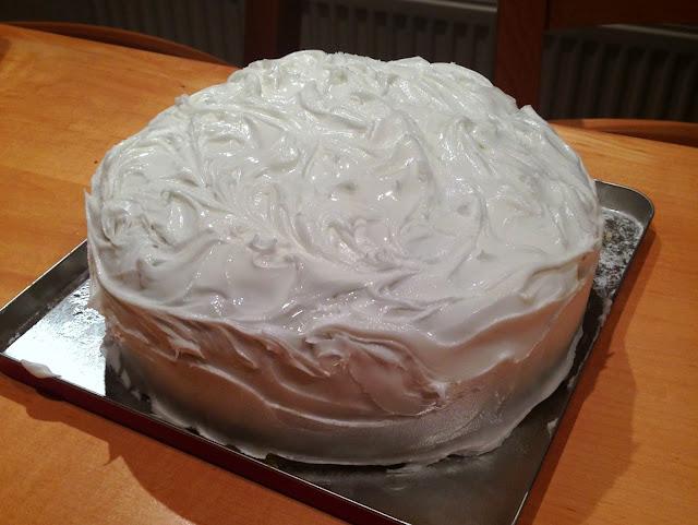 Christmas Cake | Pavlova's Dog