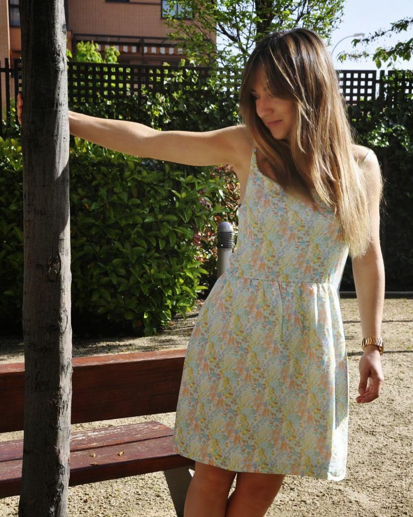 Vestido Carla,Magnolia Trendy,estampado floral