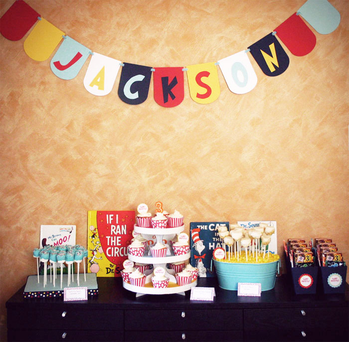 Dr. Seuss inspired party 5