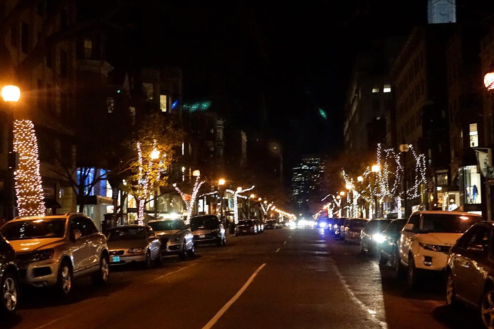 boston at christmas