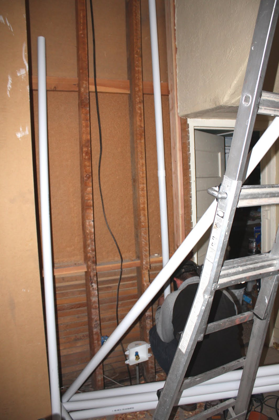 This Old Church House Gets A Modern Upgrade Electrical Wiring We Just Followed The Same Route As Chutefrom Ethans Room All Way Down To Most Perfect Spot Right By Water Heater In Basement