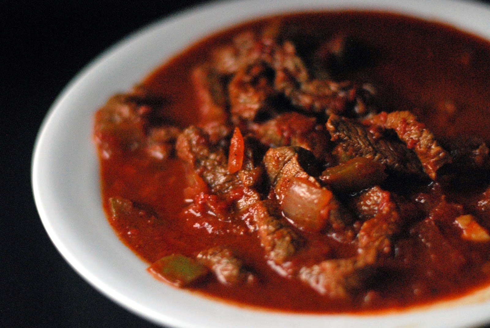 Homemade beef chili con carne from Aunt Bee's Recipes for Anyonita ...