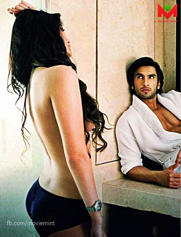 Ranveer Singh And Sonali Raut caught Half Naked