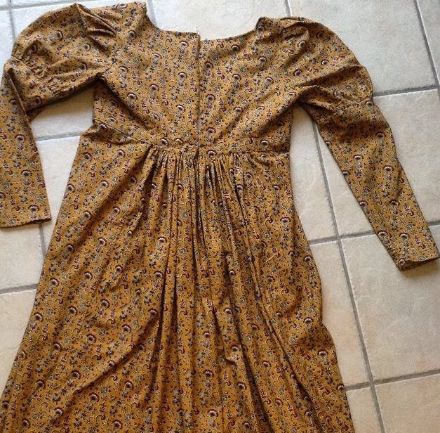 Sew 18th Century: 1820 Maid\'s Dress