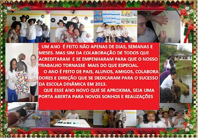 ESCOLA DINÂMICA 2013