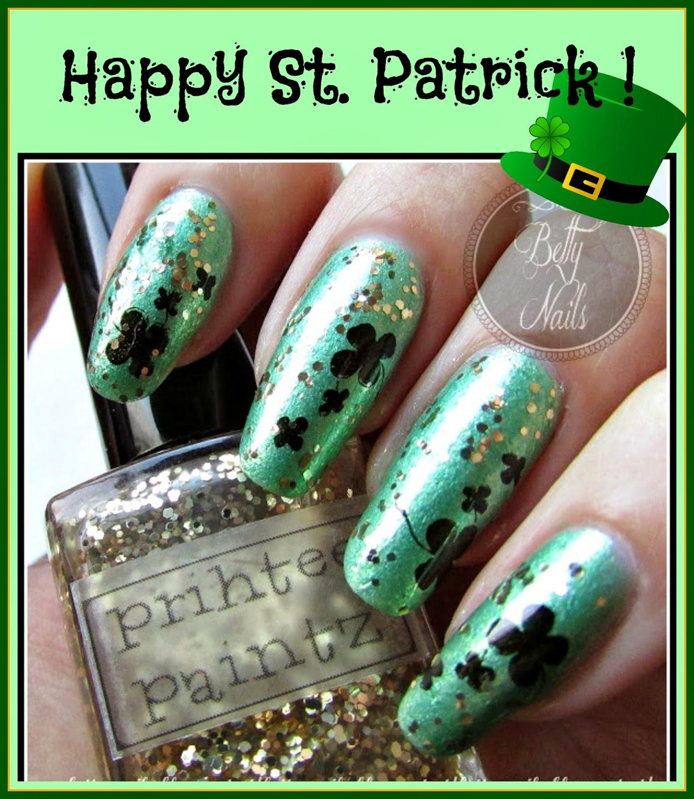 Excelente Diseños De Uñas Día De St Patrick Molde - Ideas de Pintar ...