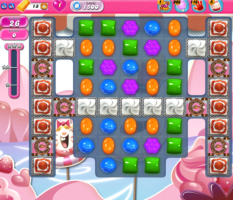 Candy Crush Saga 1500