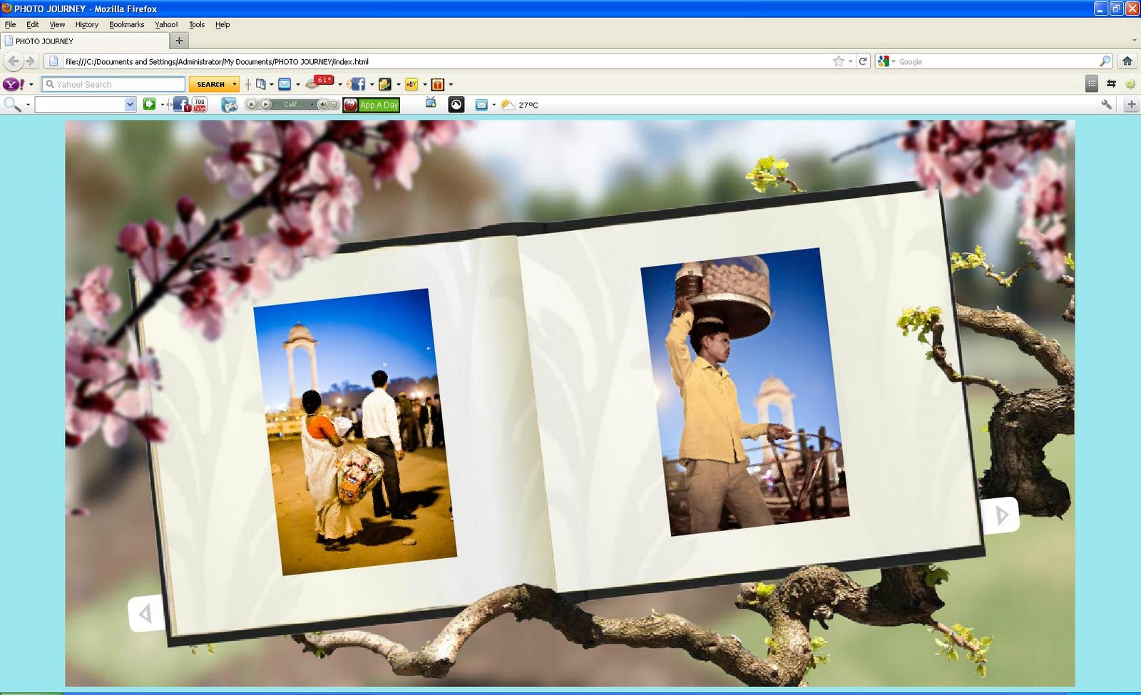 Creating Interactive Gallery for your website || Adobe Photoshop ...
